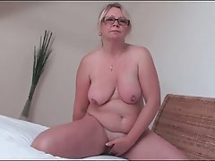 BBW, Blonde, Masturbation, MILF