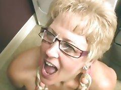 Blowjob, Mature, Facial, Granny, Old and Young
