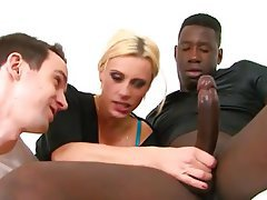 Blonde, Cuckold, Interracial