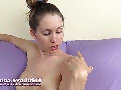 Amateur, Brunette, Cumshot, Masturbation, POV