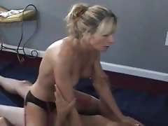 Wife has orgasm interracial