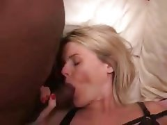 Amateur, Blonde, Gangbang, Interracial