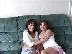 Homemade russian lesbian amateur