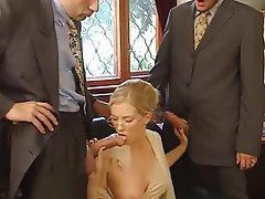 Anal, Babe, Blonde, Double Penetration, Threesome