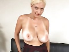Big Boobs, Blonde, MILF, POV