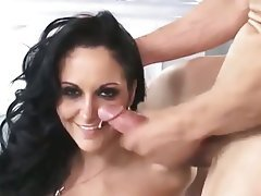 Blowjob, Cumshot, Facial, MILF, Threesome