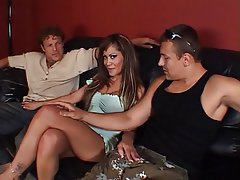 Blowjob, Facial, Group Sex, Threesome, MILF
