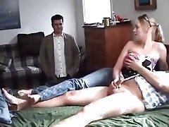 Handjob cum wifey