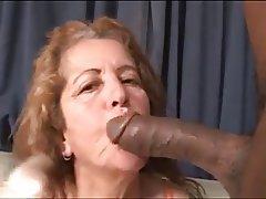 Interracial fucking mature