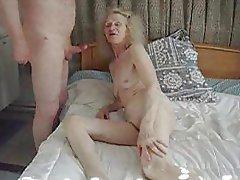 Amateur, Granny, Hairy, Masturbation, Small Tits