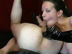 Ass Licking, Femdom, German
