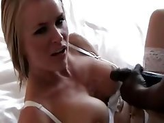 Blonde, Cuckold, Interracial, MILF