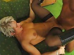 Blonde, German, Mature, MILF, Stockings